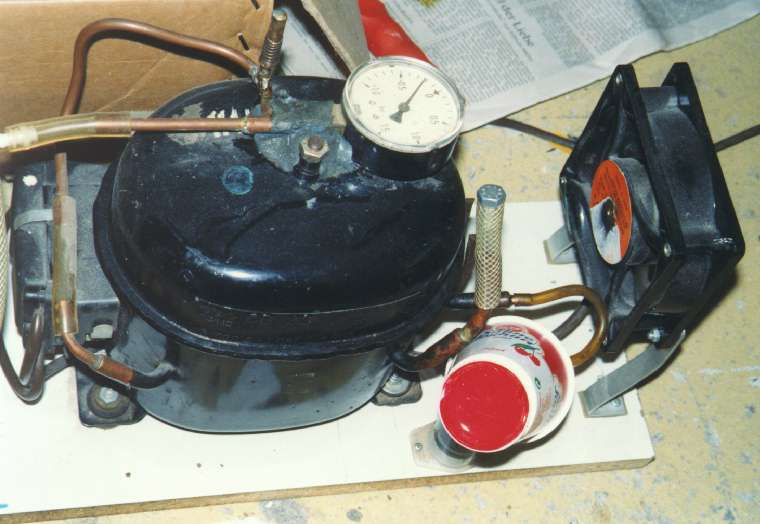 Gut bekannt Kompressor Kühlschrank Selber Bauen, K252hlschrank... - Delores NS07